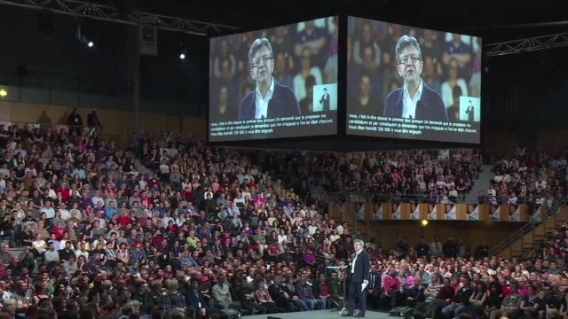 French far left presidential candidate Jean Luc Melenchon denies any links to Russian President Vladimir Putin