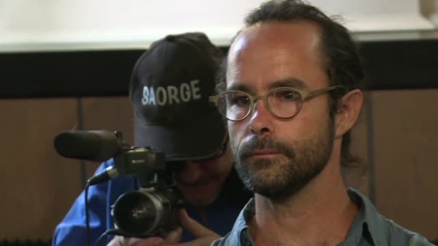 vídeos de stock, filmes e b-roll de french farmer and activist cedric herrou was given a four month suspended sentence on tuesday by an appeal court in aixenprovence for helping... - aix en provence