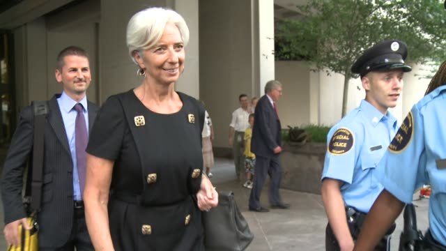 french finance minister christine lagarde on wednesday took her campaign to lead the international monetary fund directly to the imf officials who... - government minister stock videos & royalty-free footage