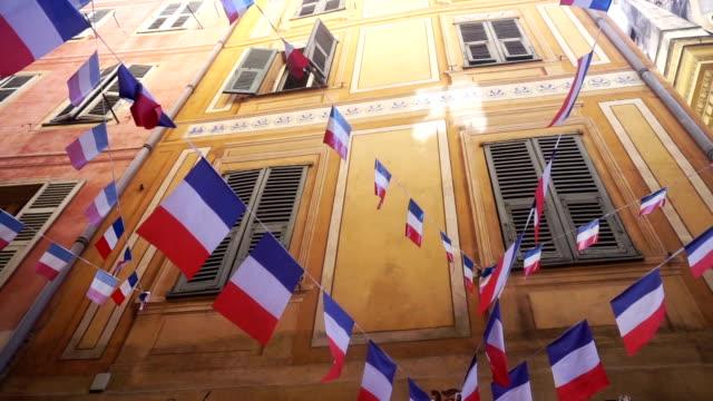 Französische Flagge bunting
