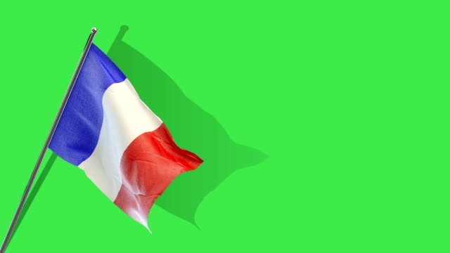 french flag Rising