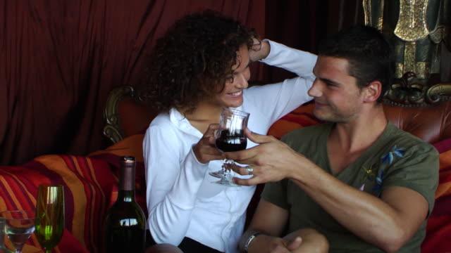 french flirt - seduction stock videos & royalty-free footage
