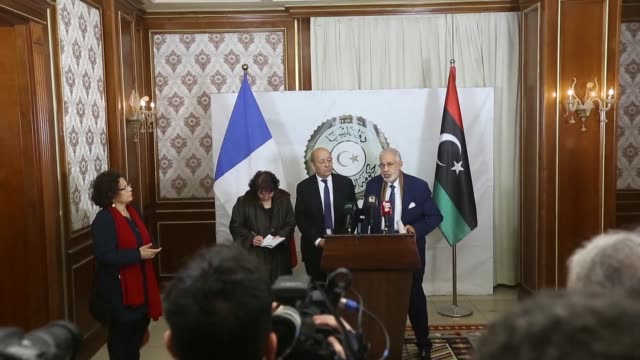 French Foreign Minister Jean Yves Le Drian visited Libya on Thursday stressing the need for a rapid implementation of a UN plan for national dialogue...