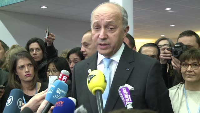 French Foreign Minister Laurent Fabius host of the 195 nation climate saving talks in Paris says he would submit a historic deal to ministers...