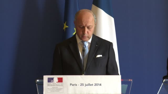 French Foreign Minister Laurent Fabius said Friday 54 nationals died in an Air Algerie crash in Mali up from the previous toll of 51