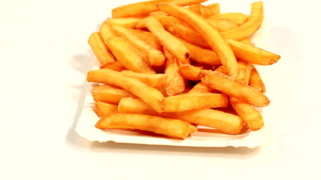 patatine fritte - gruppo medio di oggetti video stock e b–roll