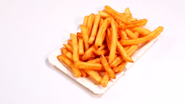 french fries - ketchup stock videos and b-roll footage