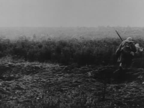 french infantry go on the attack - infantry stock videos & royalty-free footage