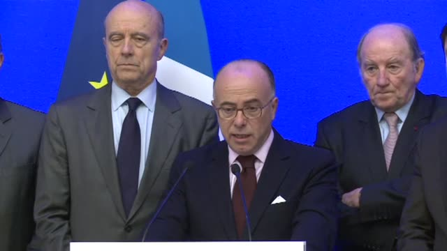 french interior minister bernard cazeneuve confirmed tuesday that fan zones will be maintained but with increased security during euro 2016 despite... - bernard cazeneuve stock videos & royalty-free footage
