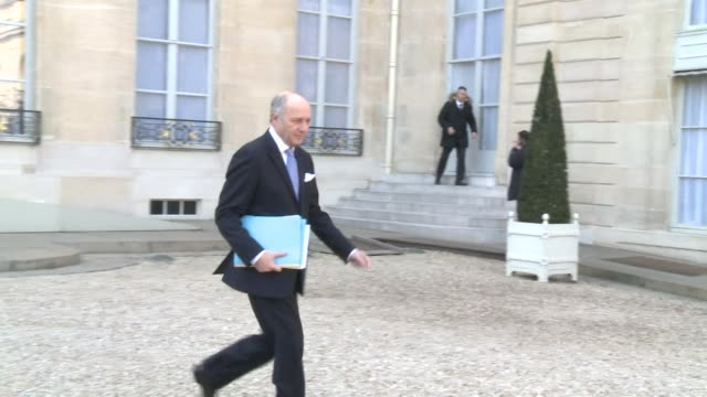 french interior minister bernard cazeneuve said that france remained on high alert after a knife wielding man attacked three soldiers outside a... - bernard cazeneuve stock videos & royalty-free footage