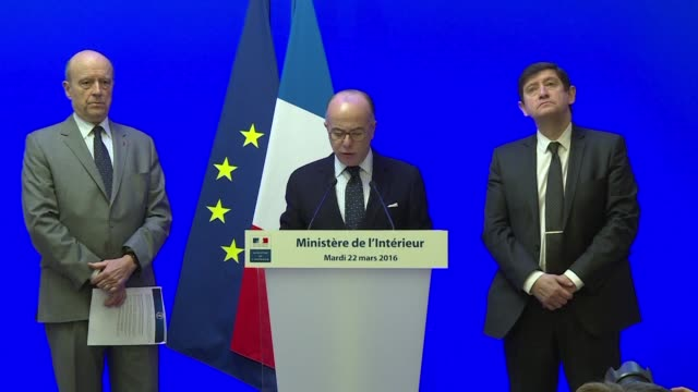 french interior minister bernard cazeneuve said tuesday that security for euro 2016 was already at a maximum and could not be increased further in... - bernard cazeneuve stock videos & royalty-free footage