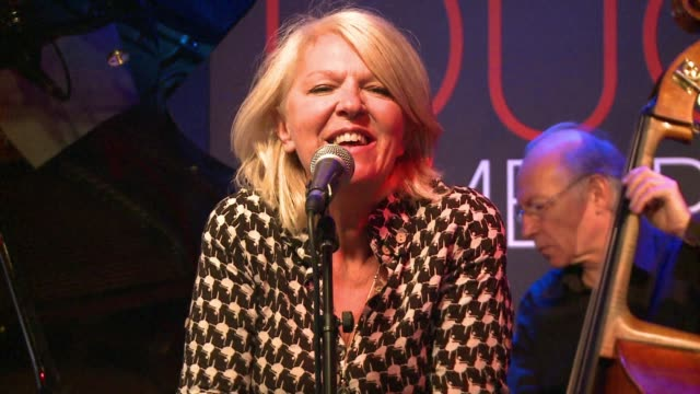 french jazz singer anne ducros highlights the friendship between marilyn monroe and ella fitzgerald in her new album, focusing on the help monroe... - ella fitzgerald stock videos & royalty-free footage