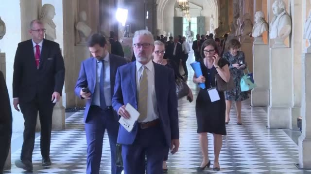 french lawmakers react to emmanuel macron's speech in versailles palace - governmental occupation stock videos & royalty-free footage