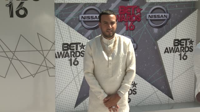 French Montana at 2016 BET Awards in Los Angeles CA