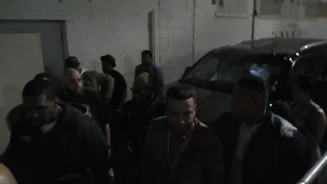 french montana at playhouse nightclub in hollywood at celebrity sightings in los angeles on february 12, 2016 in los angeles, california. - playhouse stock videos & royalty-free footage