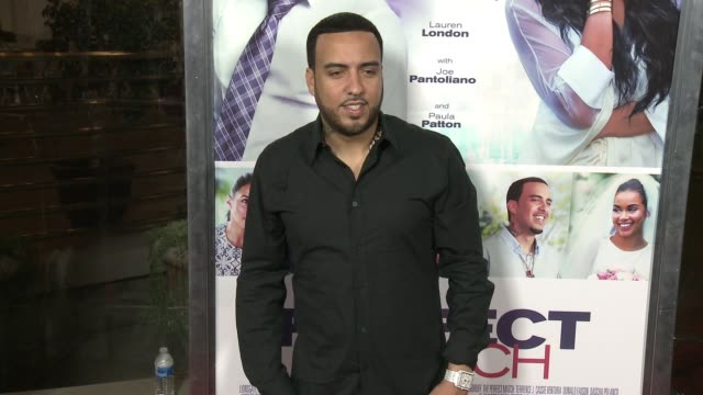 vidéos et rushes de french montana at the perfect match los angeles premiere at arclight cinemas on march 07 2016 in hollywood california - arclight cinemas hollywood