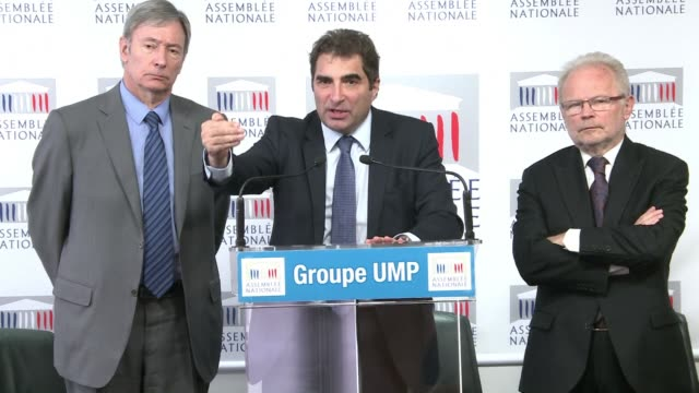 stockvideo's en b-roll-footage met french parliamentary leaders expect to debate new legislation in the aftermath of the charlie hebdo attacks - wetgeving