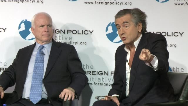 french philosopher bernard henri levy called tuesday for western intervention against assads regime in syria despite the un security councils veto... - philosopher stock videos & royalty-free footage