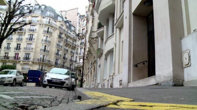 french police have carried out a raid on the paris home of imf chief christine lagarde in connection with a probe into her handling of a high profile... - profile produced segment stock videos & royalty-free footage