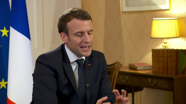 French President Emmanuel Macron saying it was a mistake for the Brexit referendum to have a simple 'yes and no' answer rather than offer suggestions...