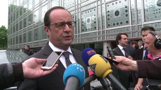 french president francois hollande on monday that he wants a global and durable agreement on the greek debt crisis hours before he was due to travel... - durability stock videos & royalty-free footage