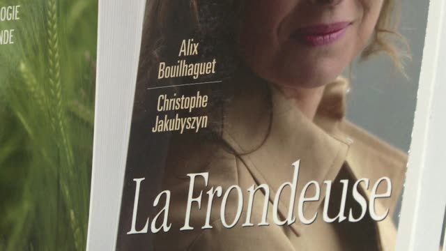 french president francois hollandes girlfriend valerie trierweiler is suing the authors of a biography on her called the rebel for defamation and... - biography stock videos & royalty-free footage