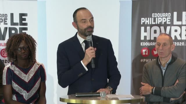french prime minister edouard philippe says he respects benjamin griveaux's decision to pull out of the paris mayoral race expressing sympathy and... - benjamin griveaux stock videos & royalty-free footage