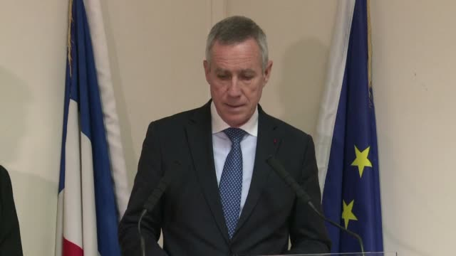 vídeos y material grabado en eventos de stock de a french prosecutor confirmed tuesday that the man who beheaded his boss and tried to blow up a gas factory had a terrorist motive and links to the... - decapitado