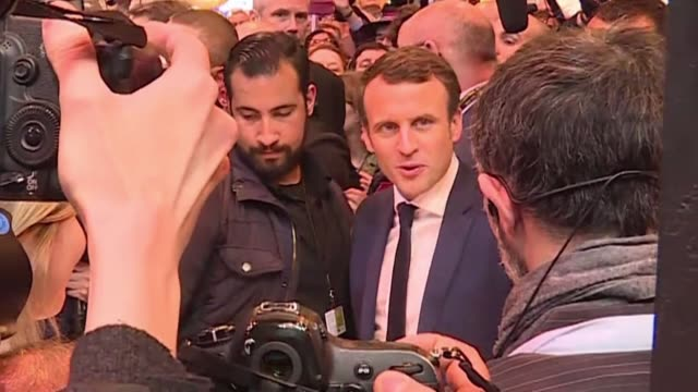 french prosecutors have opened a probe into an alleged assault by a senior security officer working for president emmanuel macron who was identified... - staatsanwalt stock-videos und b-roll-filmmaterial