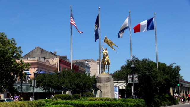 french quarter - new orleans, louisiana - french culture stock videos & royalty-free footage