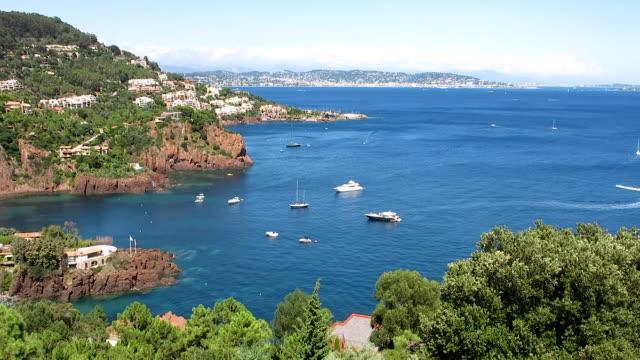 vidéos et rushes de français riviera. côte d'azur. - bay of water