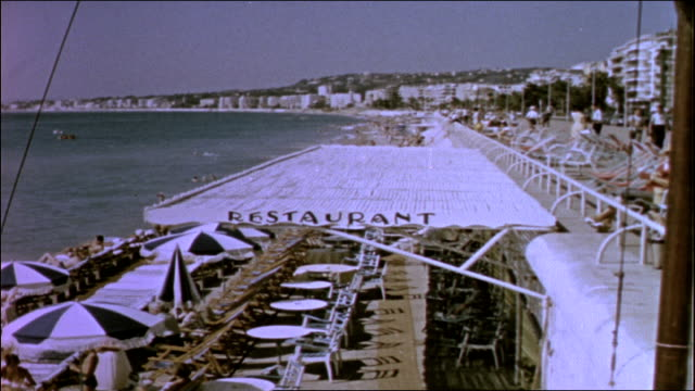 french riviera - 1950 stock-videos und b-roll-filmmaterial