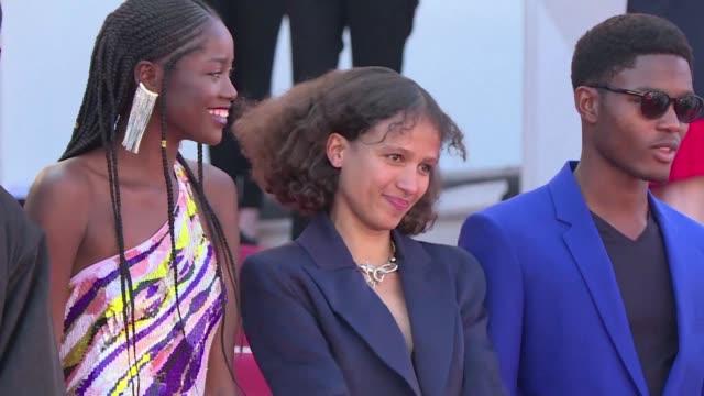 FRA: Maty Diop and Atlantics cast walk Cannes red carpet (2)