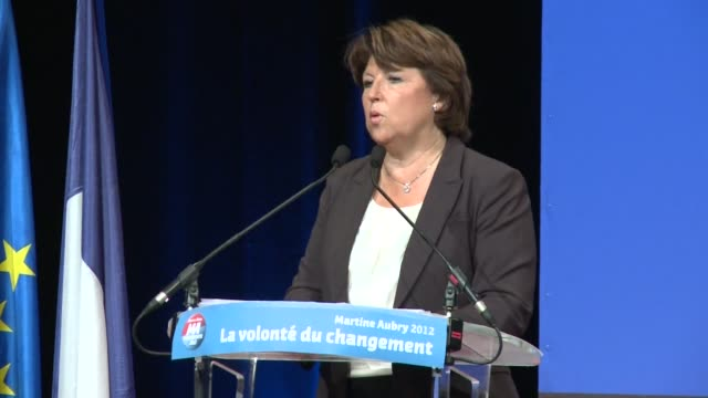 French Socialist Party primary candidate Martine Aubry debuted her 'Toulouse Pledge' the centerpiece of her campaign platform on Wednesday night...