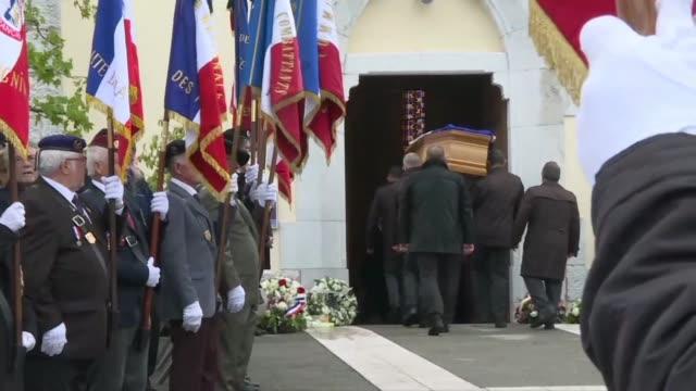 FRA: Funeral for slain French commando Alain Bertoncello
