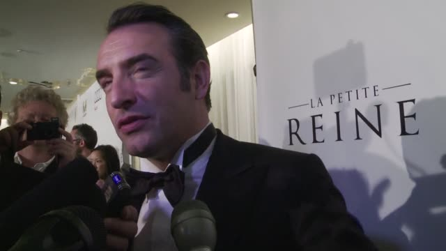 french star jean dujardin said early monday he might consider projects in the us after winning best actor oscar for silent film the artist but... - jean dujardin stock videos and b-roll footage
