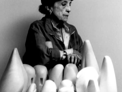 frenchamerican contemporary artist louise bourgeois known for her series of giant metal spiders died monday in new york at the age of 98 among her... - invertebrate stock videos & royalty-free footage