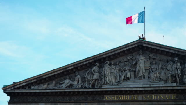 French´s flag waving
