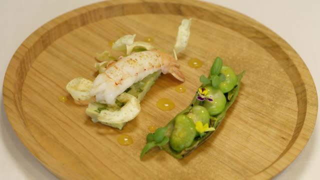 french-style cuisine - 飲食点の映像素材/bロール