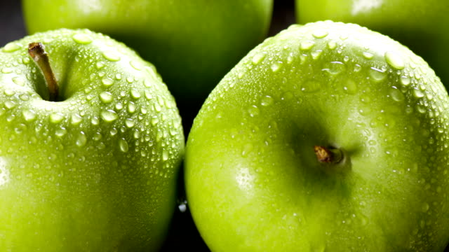 Fresh Apple close up