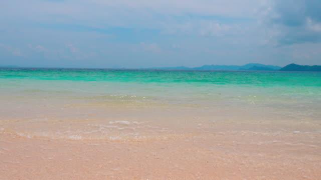 fresh beach ,tropical island - seascape stock videos & royalty-free footage