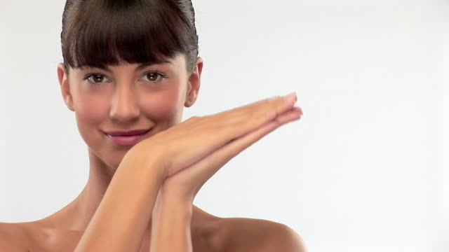fresh beauty - bangs stock videos & royalty-free footage