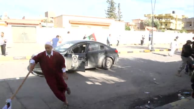 Fresh clashes erupted in a Tripoli suburb on Saturday witnesses and the Libyan government said as the death toll from violence at an anti militia...