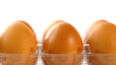 fresh egg - raw food stock videos & royalty-free footage