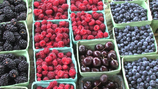 fresh fruit (hd) - agricultural fair stock videos & royalty-free footage
