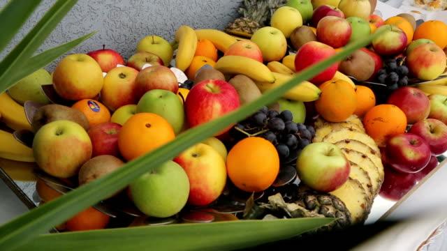 vidéos et rushes de fruits frais - banane fruit exotique
