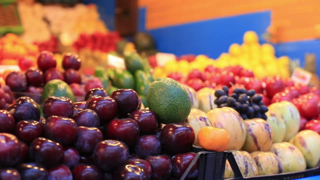 fresh fruits close-up - fruit stock videos & royalty-free footage