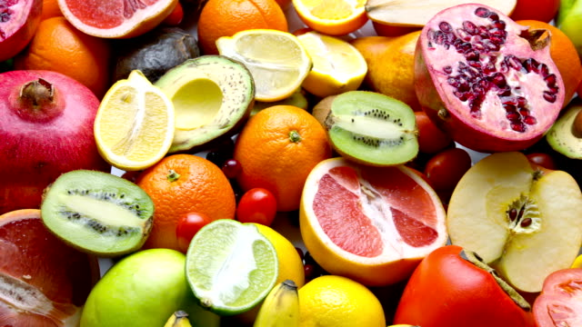 fresh fruits - tropical fruit stock videos & royalty-free footage