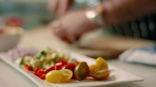 fresh ingredients - cherry tomato - cherry tomato stock videos & royalty-free footage