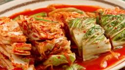 Fresh Kimchi close up